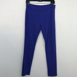 DKNY Ponte Knit Skinny Leggings Size XS Zipper